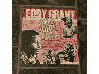 "EDDY GRANT - GIMME HOPE JO´ANNA. (NEAR MINT 7"")"
