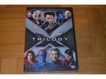 X-Men Trilogy - 3 Filmer - 3-Disc DVD Box INPLASTAD