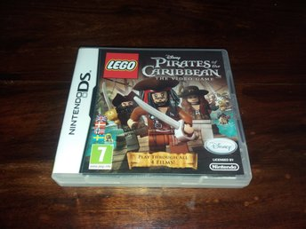 LEGO Pirates of the Caribbean The Video Game, DS, Komplett, Fint Skick!