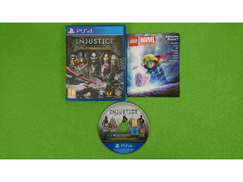 Injustice Gods Among Us Ultimate Edition Playstation 4 PS4