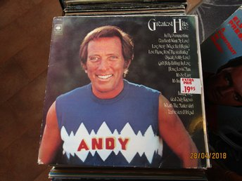 ANDY WILLIAMS - GREATEST HITS VOL 2 - LP