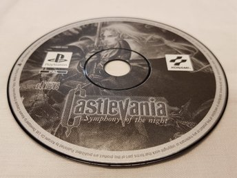 CASTLEVANIA SYMPHONY OF THE NIGHT  / PAL / PS1 /1 kr STARTBUD