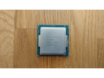 Intel Core i5 6600K 3,5GHz (Socket 1151)
