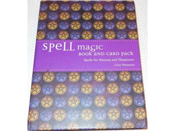 Spell Magic Book and Card Pack, Spells for Success and Happiness, Formler