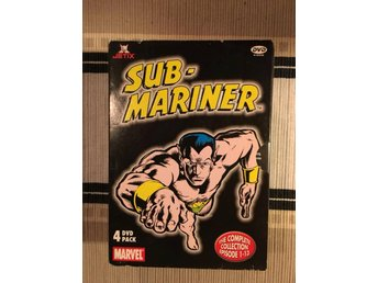 Sub-mariner/4-disc/The complete collection 1-13/3 st Inplastade