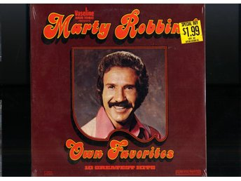 MARTY ROBBINS - OWN FAVORITES - STILL SEALED