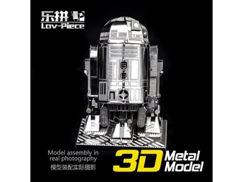 3D Pussel Metall - Star Wars - Starwars - R2D2