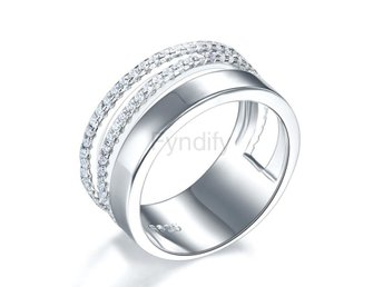 Ring Design 925 Sterling Silver Wedding Band