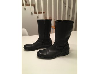 Hugo Boss Orange boots MC-modell strl 44, svarta