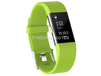 Armband Fitbit Charge 2 Large Green Fri Frakt Ny