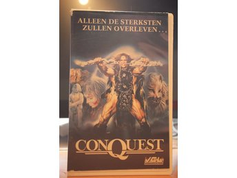 Conquest - Ex Rental, Holland, VCL, Lucio Fulci, VHS