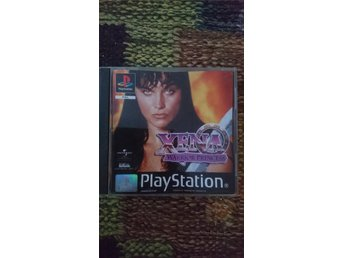 Xena warrior princess till ps1, psone, playstation. OBS TYSKT OBS