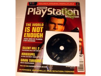 PLAYSTATION Mag  Nr38  HELT NY med CD JAN2001 JAMES BOND !!