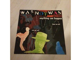 "WAS NOT WAS - ANYTHING CAN HAPPEN. (12"" MAXI)"