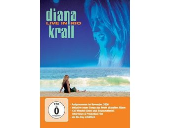 Diana Krall live in Rio DVD