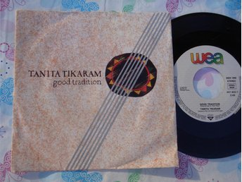 "TANITA TIKARAM - GOOD TRADITION 7"" 1988"