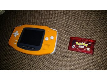 Gameboy Advance & Pokemon Ruby - Nyskick!