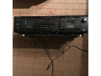Sony  dubbel cassette däck TC-WE 435