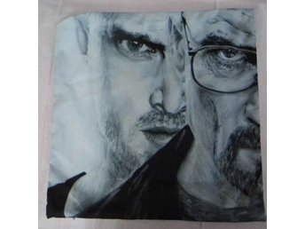 Breaking Bad Walter White och Jesse Kudde / Cushion Cover