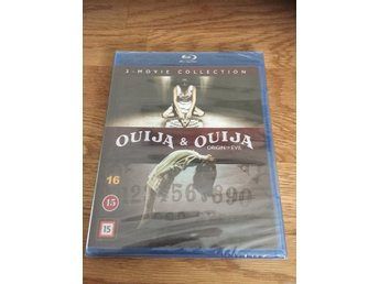 Blu-ray  : ouija & ouija origon of evil 2 movie collection(inplastad)