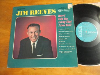 "Jim Reeves ""Have I Told You Lately That I Love You"""