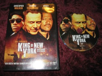 KING OF NEW YORK (CHRISTOPHER WALKEN,WESLEY SNIPES,LAURENCE FISHBURNE) DVD