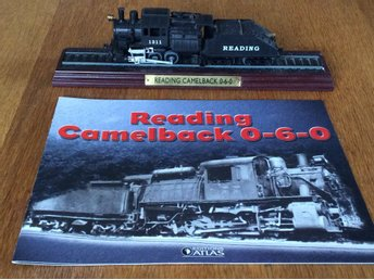 Atlas - Legendariska lok - Reading Camelback 0-6-0 -  samlarserie