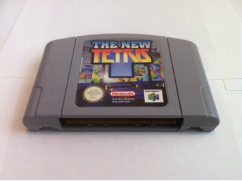 N64: The New Tetris (Enbart kassetten)
