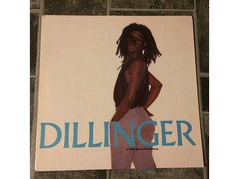 "DILLINGER - TRIBAL WAR. (NEAR MINT 12"")"