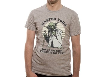STAR WARS - YODA DO OR DO NOT (UNISEX)  T-Shirt - Large