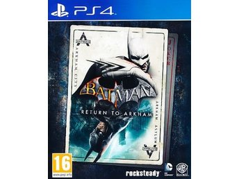 Batman Return to Arkham PS4 (PS4)