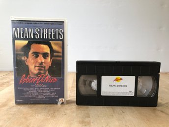 Mean Streets - Rober DeNiro VHS