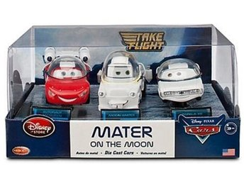 Disney Cars Take Flight Mater on The Moon 3-Pack