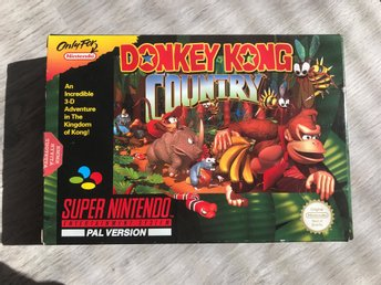 SNES: Donkey Kong Country (SCN)