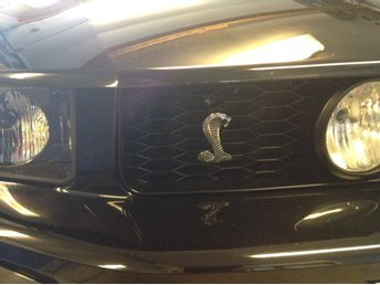 Grillemblem Ford Mustang Cobra