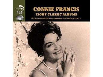 Francis Connie: 8 classic albums (Rem) (4 CD)