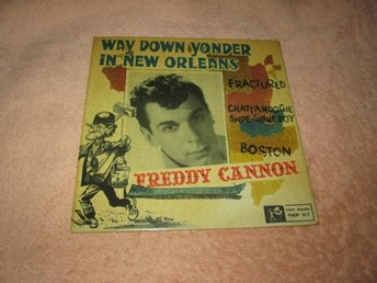 FREDDIE CANNON WAY DOWN YONDER IN NEW ORLEANS  EP