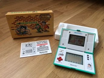 Nintendo Game & Watch: Bomb Sweeper (BD-62)