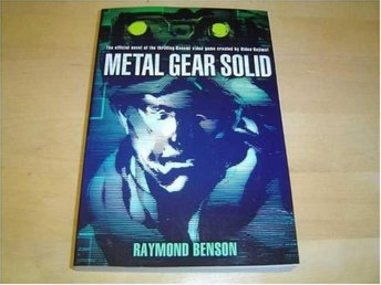 Metal Gear Solid Pocketbok Bok *NYTT*