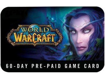 World of Warcraft GameCard 60-dagars Days Time Card PC