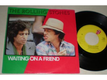 Rolling Stones 45/PS Waiting on a friend 1981 VG++