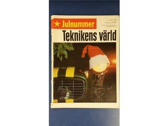Teknikens Värld nr 25 1966: Plymouth Barracuda, Volvo 144, VW 1500, Lockheed C-5 - Uppsala - Teknikens Värld nr 25 1966: Plymouth Barracuda, Volvo 144, VW 1500, Lockheed C-5 - Uppsala