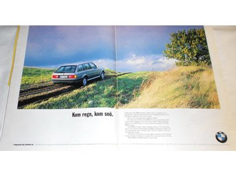 BMW TOURING, STOR TIDNINGSANNONS 1988