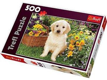 Labrador in the garden Pussel 500 bitar - Hallsberg - Labrador in the garden Pussel 500 bitar - Hallsberg