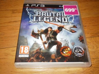 BRUTAL LEGEND  (PS3) Playstation 3  NYSKICK