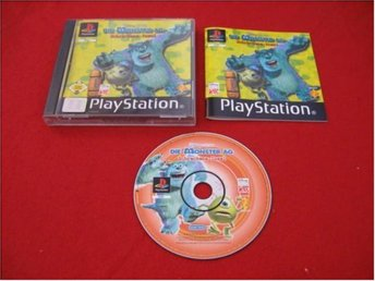 MONSTERS INC till Sony Playstation PSone