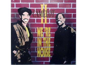 "Camelot II title*  We're In The House* Hip-House 12"" Germany"