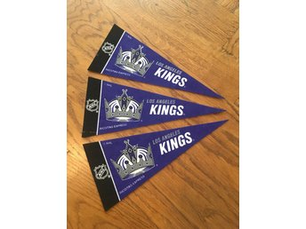 Los Angeles Kings Mini Vimpel 3 st NHL