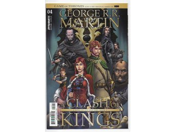 George R.R. Martin's A Clash of Kings # 4 Cover B NM Ny Import