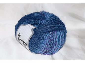 Virginia Wool, blå/lila, 50 g